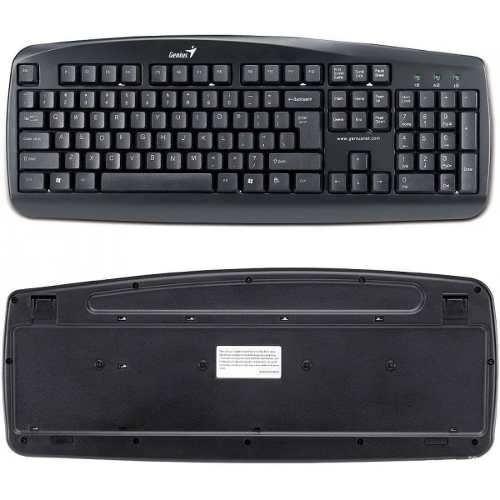 Genius KB110X PS/2 Wired Keyboard Water Resistant